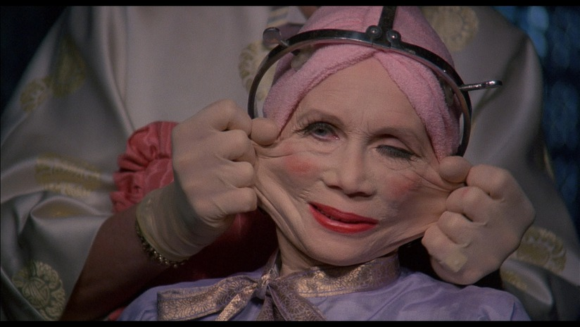 Katherine Helmond a Brazil című filmben (Terry Gilliam, 1985)