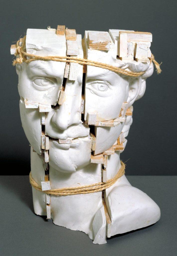 Sir Eduardo Paolozzi: Michelangelo Dávidja (1987). Forrás: Tate