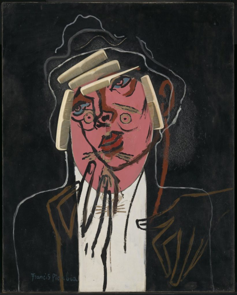 Francis Picabia (1879–1953): A jóképű hentes, 1924-6 körül, ill. 1929-35 körül. A Tate Gallery gyűjteményéből