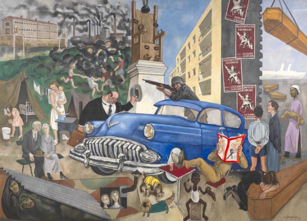 André Fougeron (1913-1998): Atlanti civilizáció (Civilisation atlantique; Tate Gallery, London)