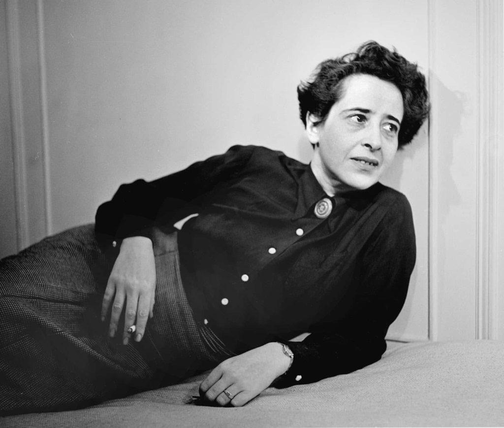 Hannah Arendt (1906. október 14., Hannover – 1975. december 4., New York)