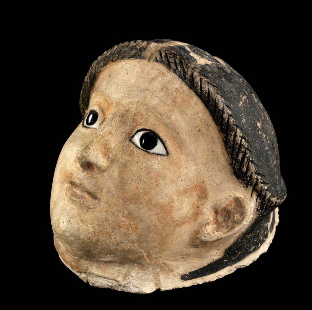 Női múmia maszkja (a Louvre frissen digitalizált és közkinccsé tett kollekciójából)